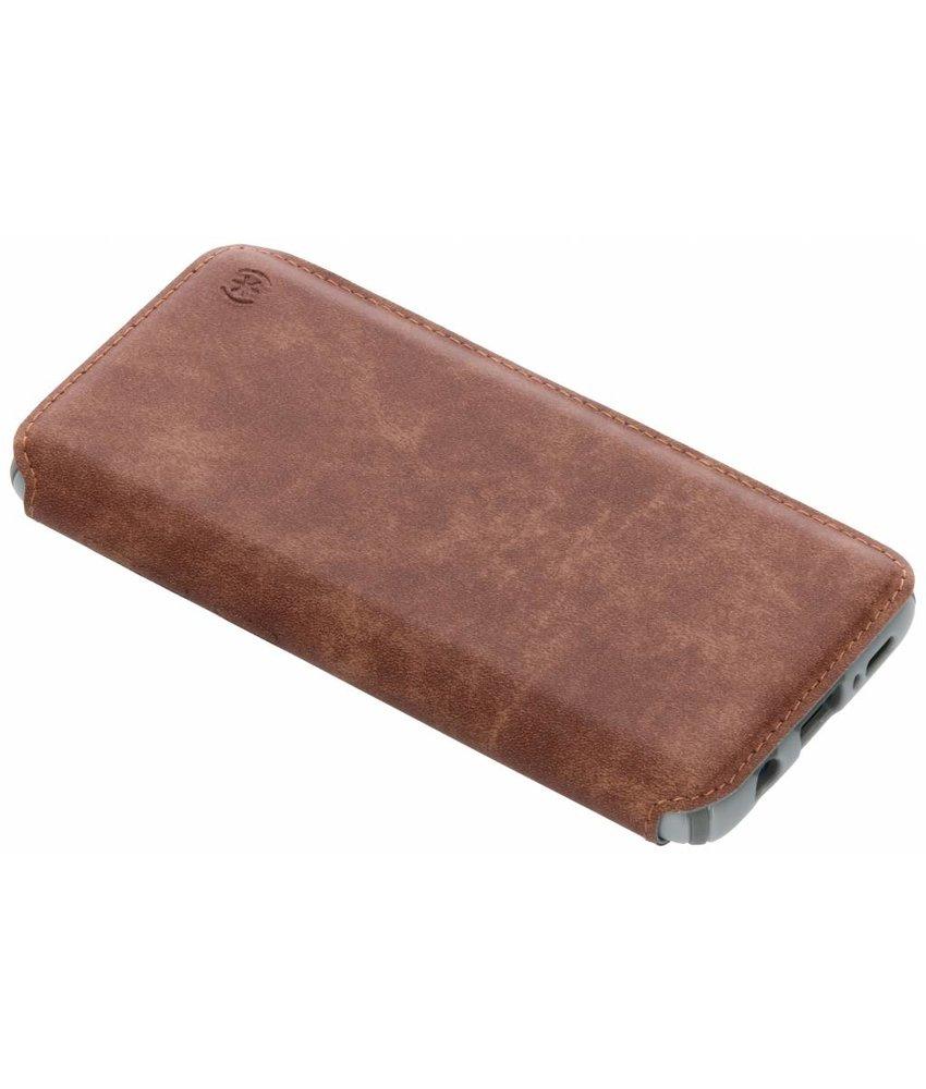 Speck Bruin Presidio Folio Leather Case Samsung Galaxy S9