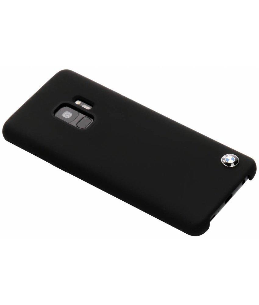 BMW Zwart Silicone Hard Case Samsung Galaxy S9