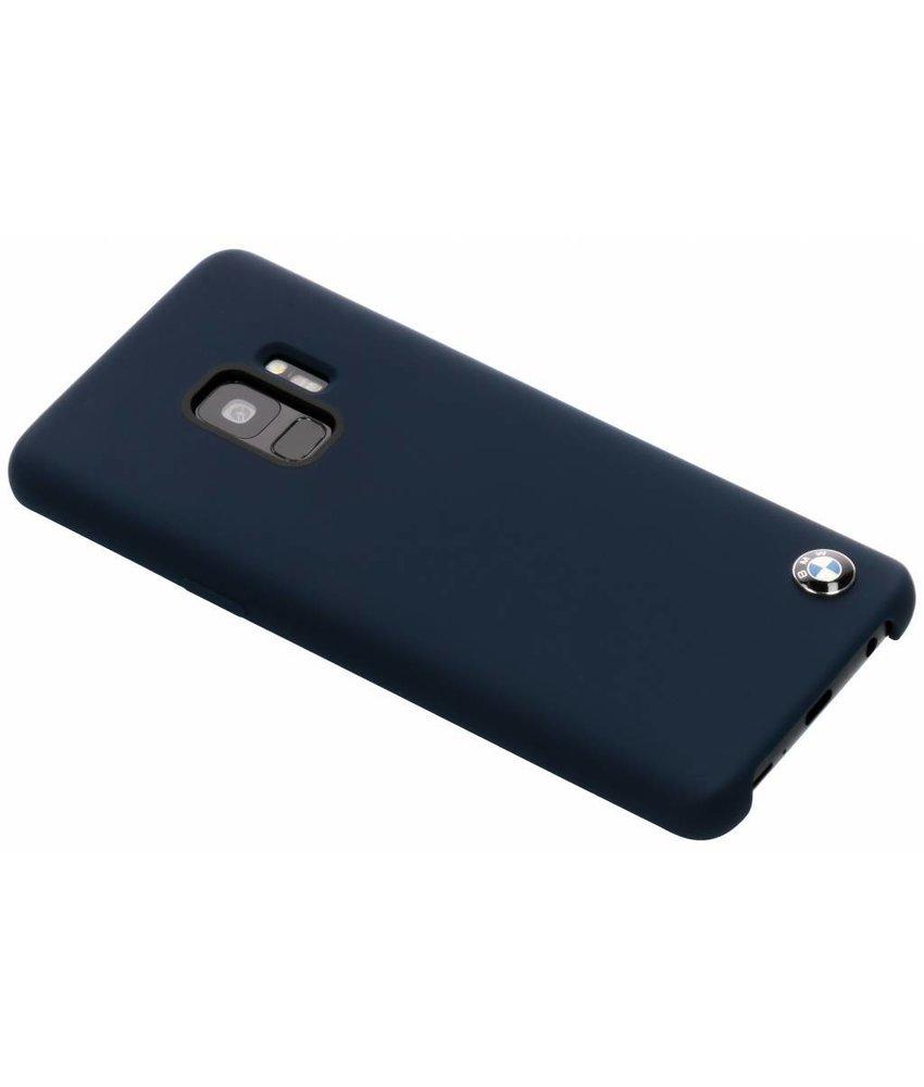 BMW Donkerblauw Silicone Hard Case Samsung Galaxy S9
