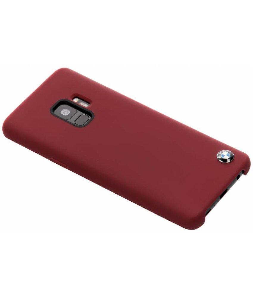 BMW Rood Silicone Hard Case Samsung Galaxy S9