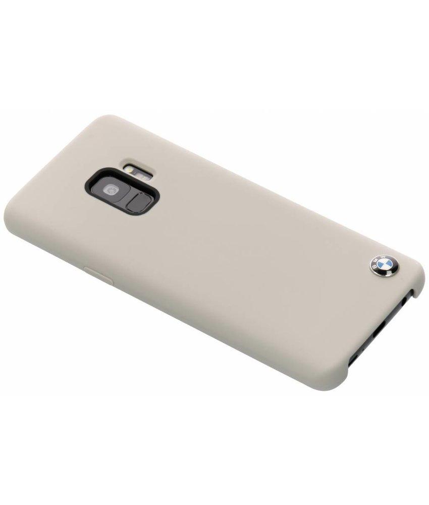 BMW Taupe Silicone Hard Case Samsung Galaxy S9