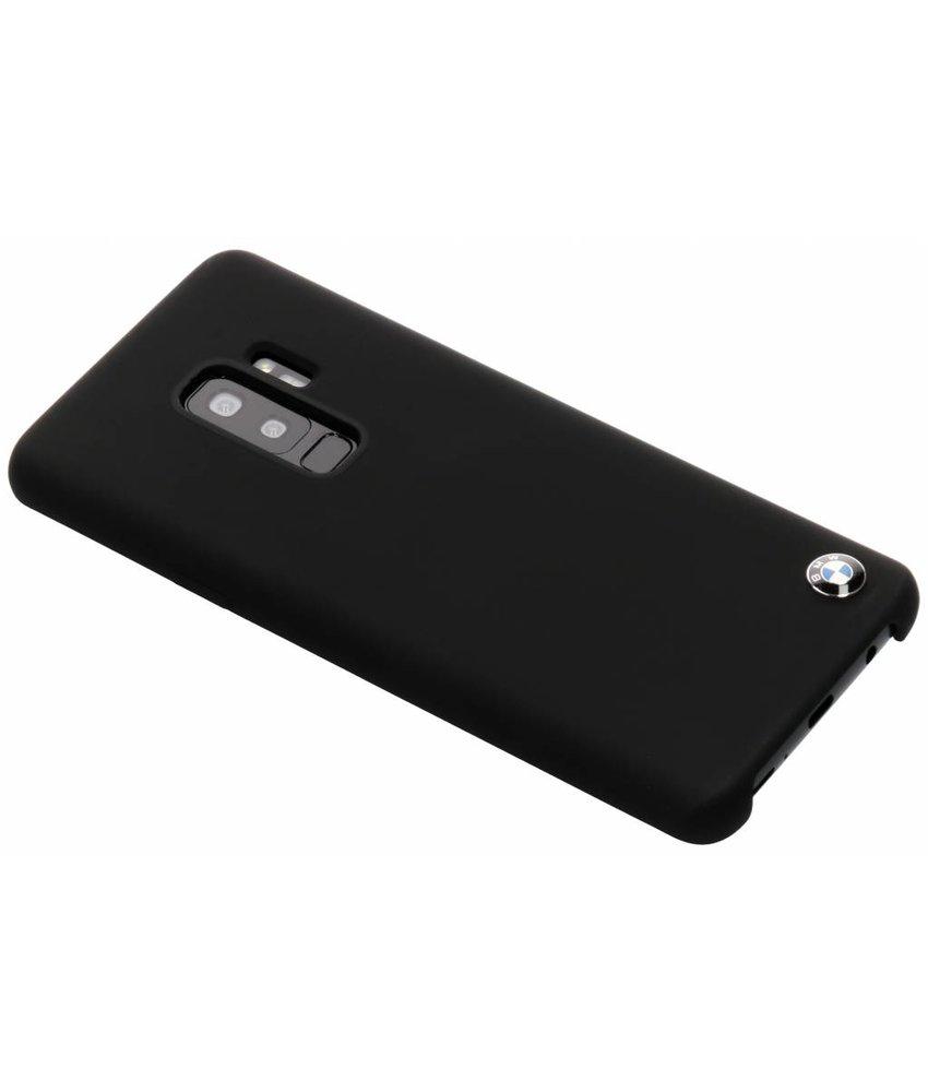 BMW Zwart Silicone Hard Case Samsung Galaxy S9 Plus