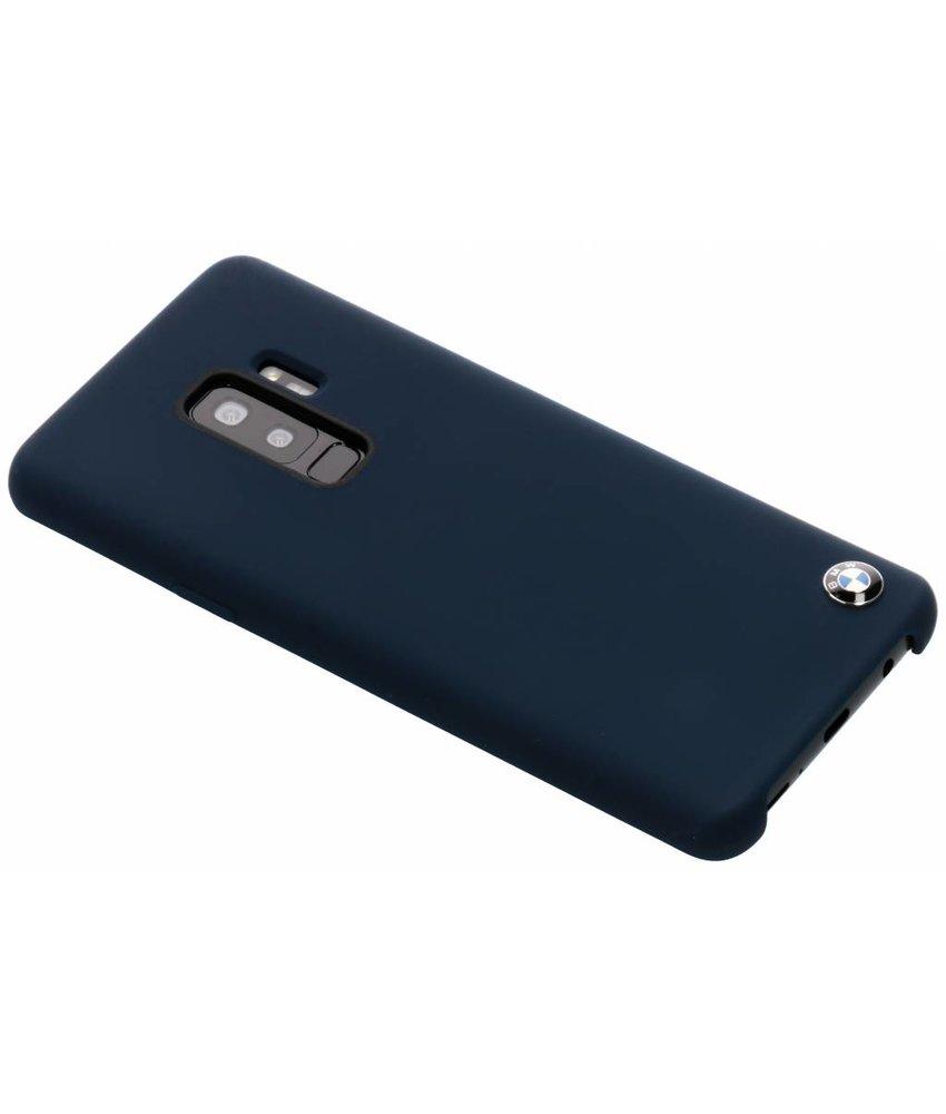 BMW Donkerblauw Silicone Hard Case Samsung Galaxy S9 Plus
