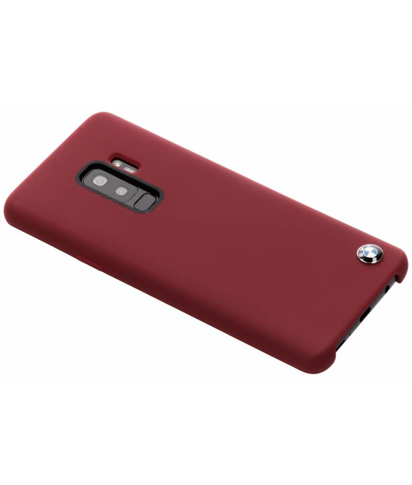 BMW Rood Silicone Hard Case Samsung Galaxy S9 Plus
