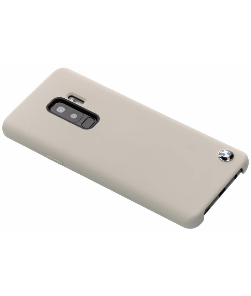 BMW Taupe Silicone Hard Case Samsung Galaxy S9 Plus