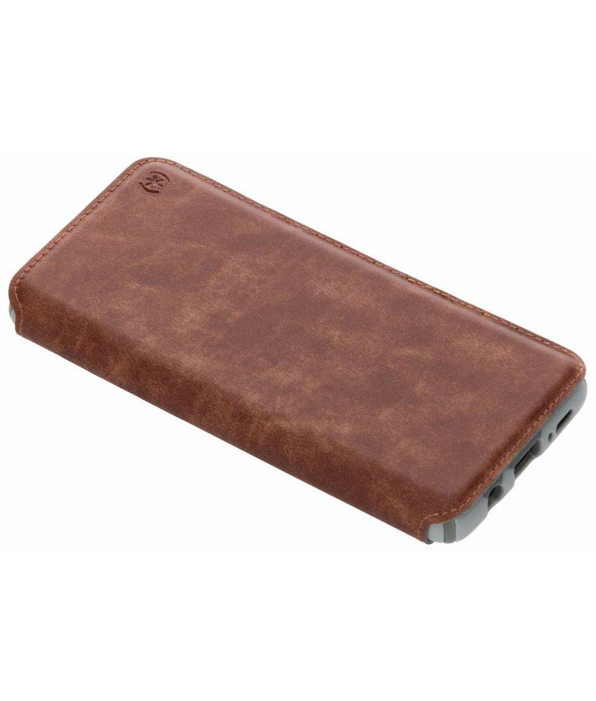 Speck Bruin Presidio Folio Leather Case Samsung Galaxy S9 Plus