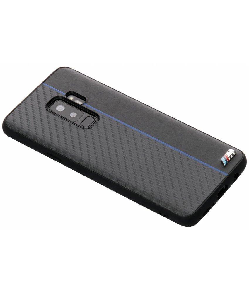 BMW Zwart / Blauw M Line Carbon Hard Case Samsung Galaxy S9 Plus