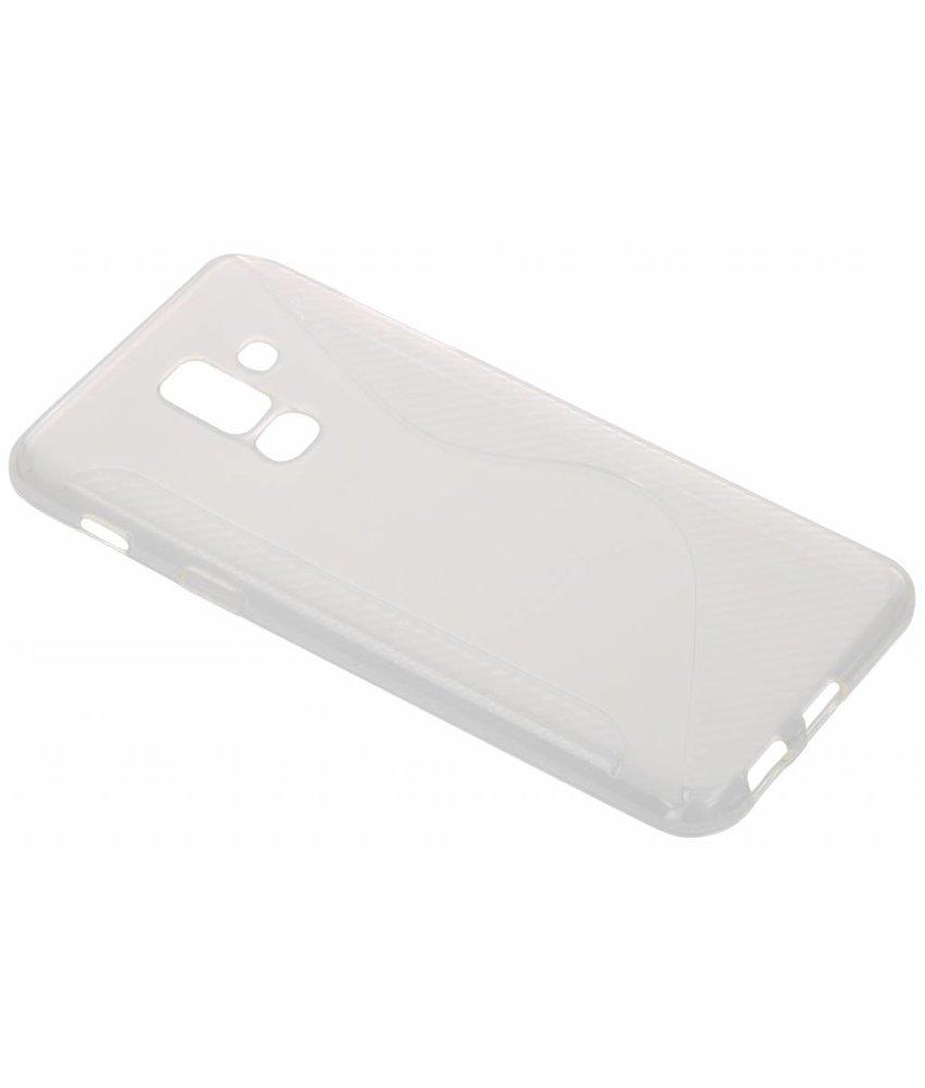 Transparant S-line TPU hoesje Samsung Galaxy A6 Plus (2018)