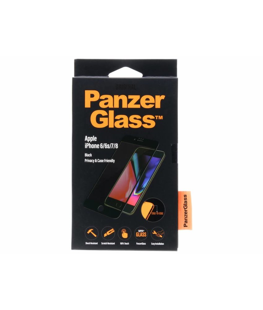 PanzerGlass Privacy Screenprotector iPhone 8 / 7 / 6s / 6