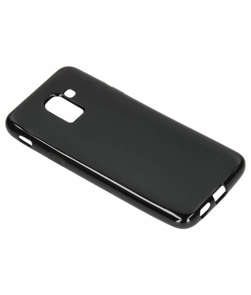 Zwart gel case Samsung Galaxy J6
