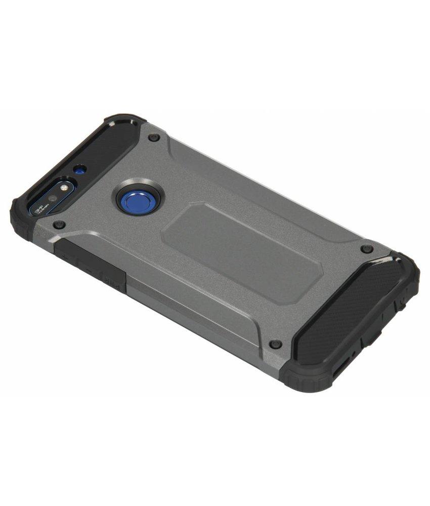 Grijs Rugged Xtreme Case Huawei Y7 (2018)