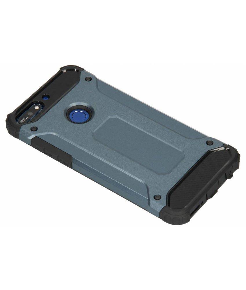 Donkerblauw Rugged Xtreme Case Huawei Y7 (2018)