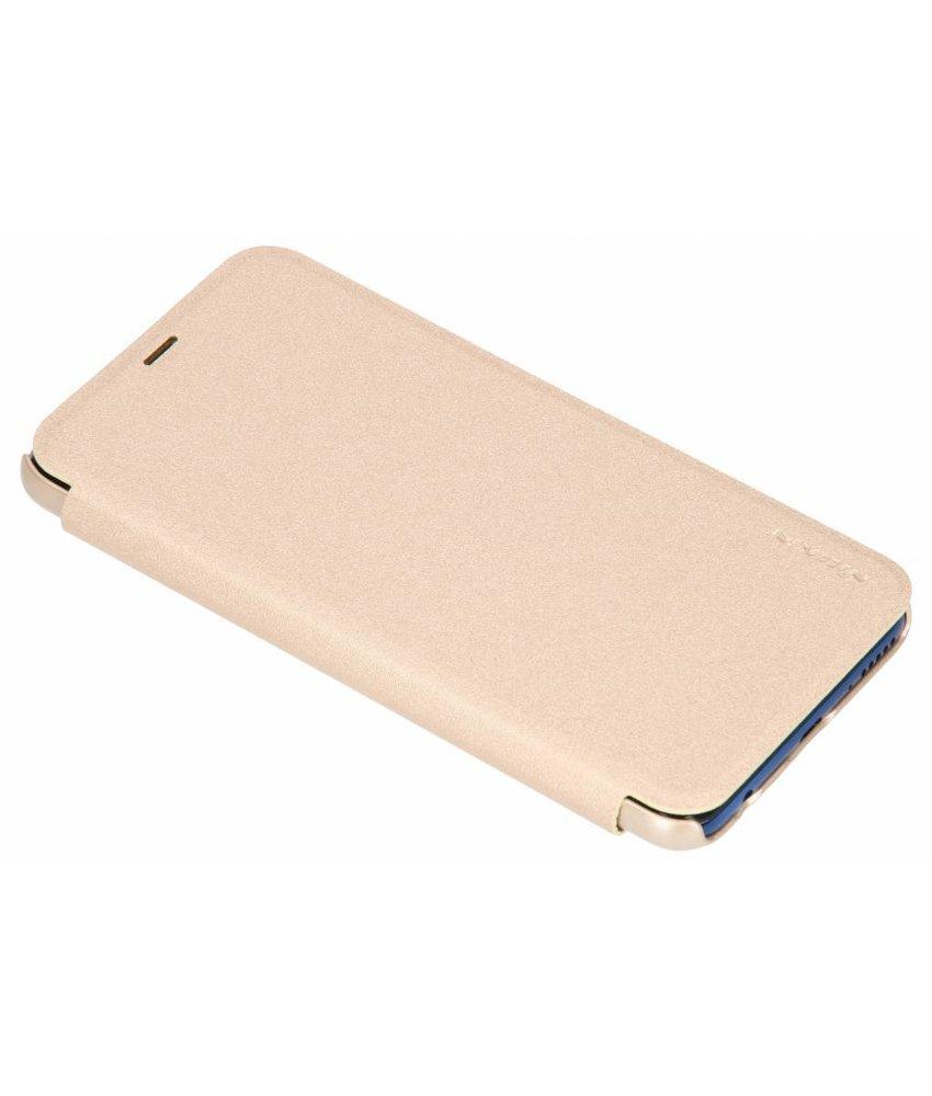 Nillkin Goud New Leather Case Huawei Y7 (2018)