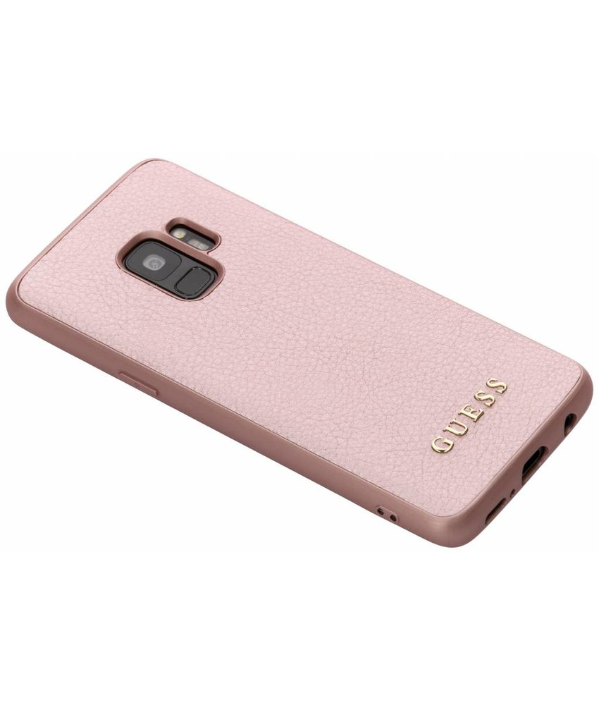 Guess Rosé Goud iriDescent Hardcase Samsung Galaxy S9