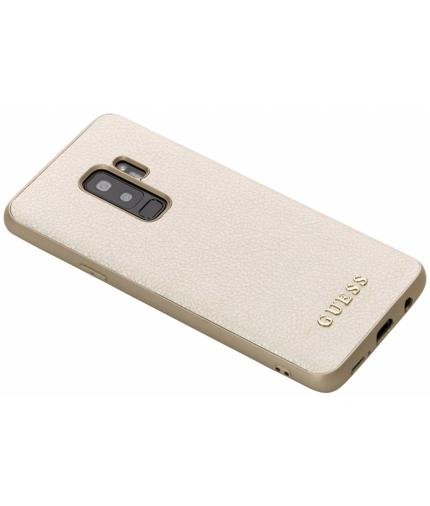 Guess Goud iriDescent Hardcase Samsung Galaxy S9 Plus