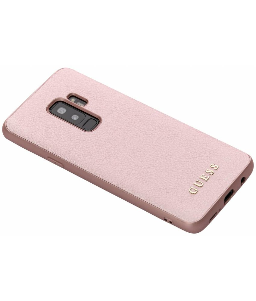 Guess Rosé Goud iriDescent Hardcase Samsung Galaxy S9 Plus