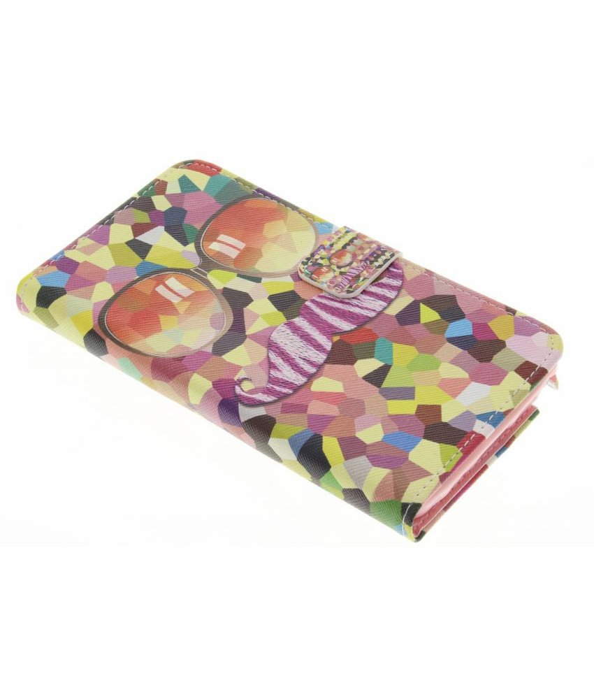 Design Softcase Booktype Samsung Galaxy Note 3