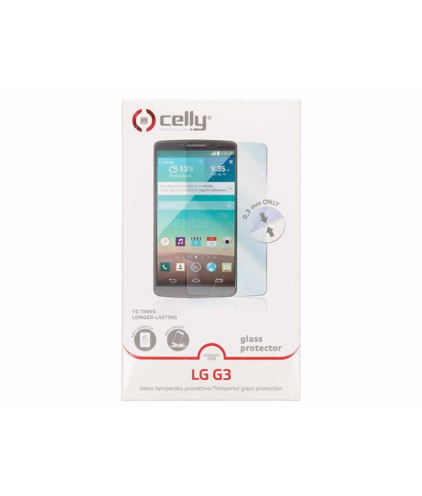 Celly Glass Screenprotector LG G3