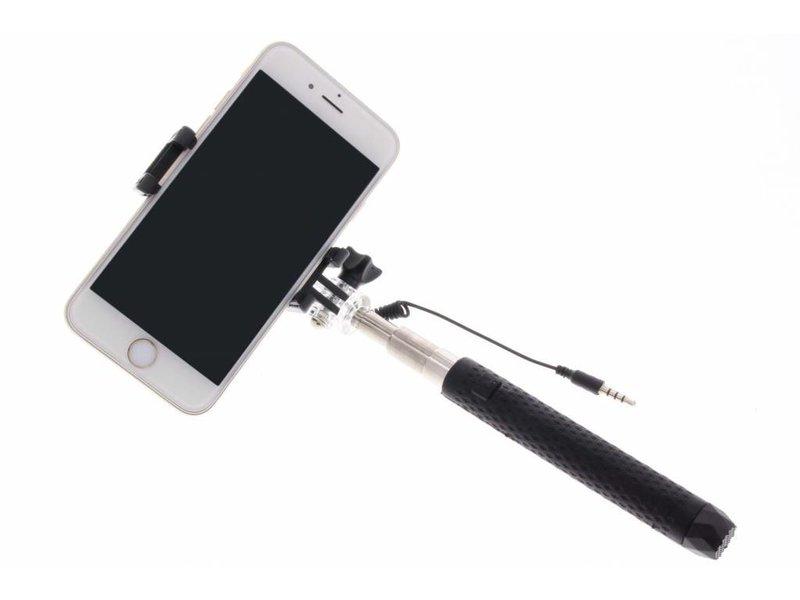 Zwart universele mini selfie stick