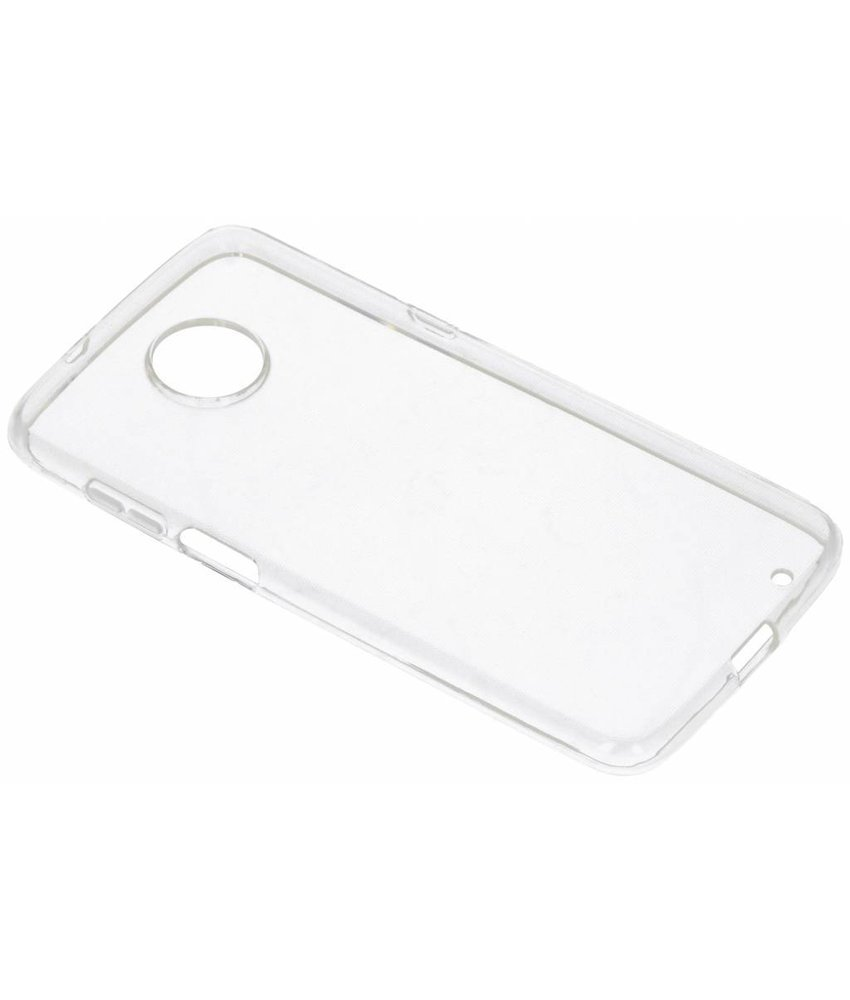 Transparant gel case Motorola Moto Z3 Play