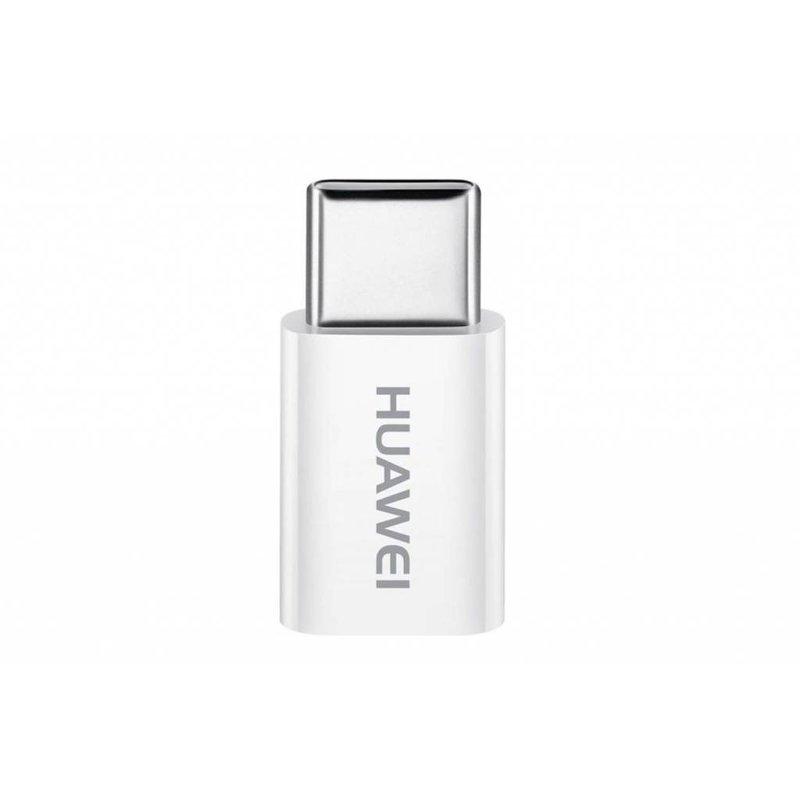Huawei Wit Micro-USB naar USB-C adapter