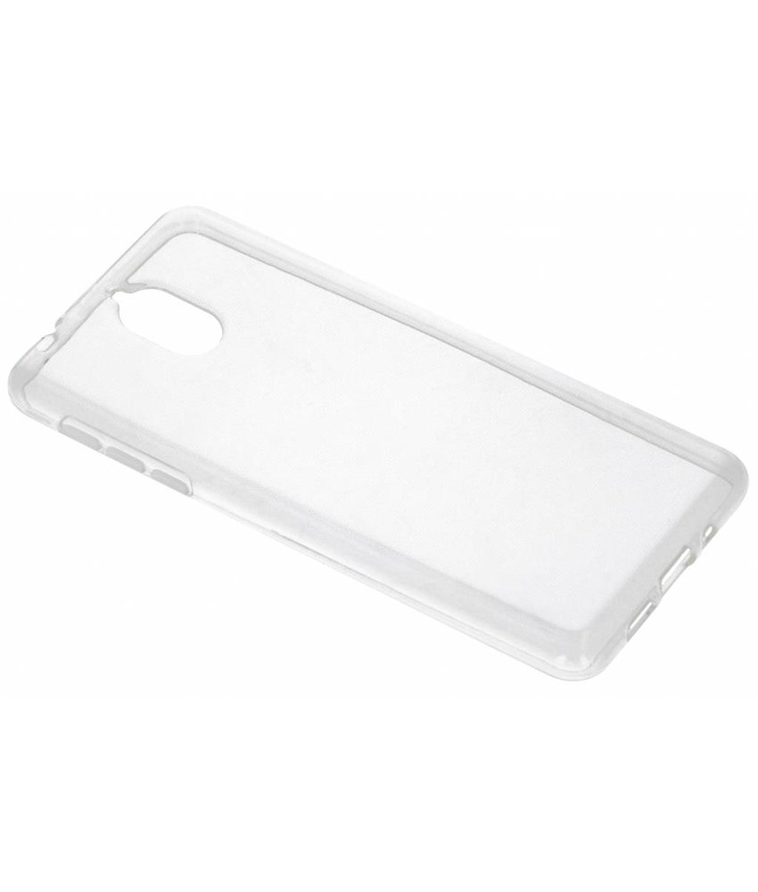 Transparant gel case Nokia 3.1