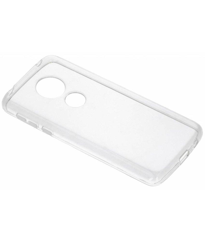 Transparant gel case Motorola Moto E5 / G6 Play