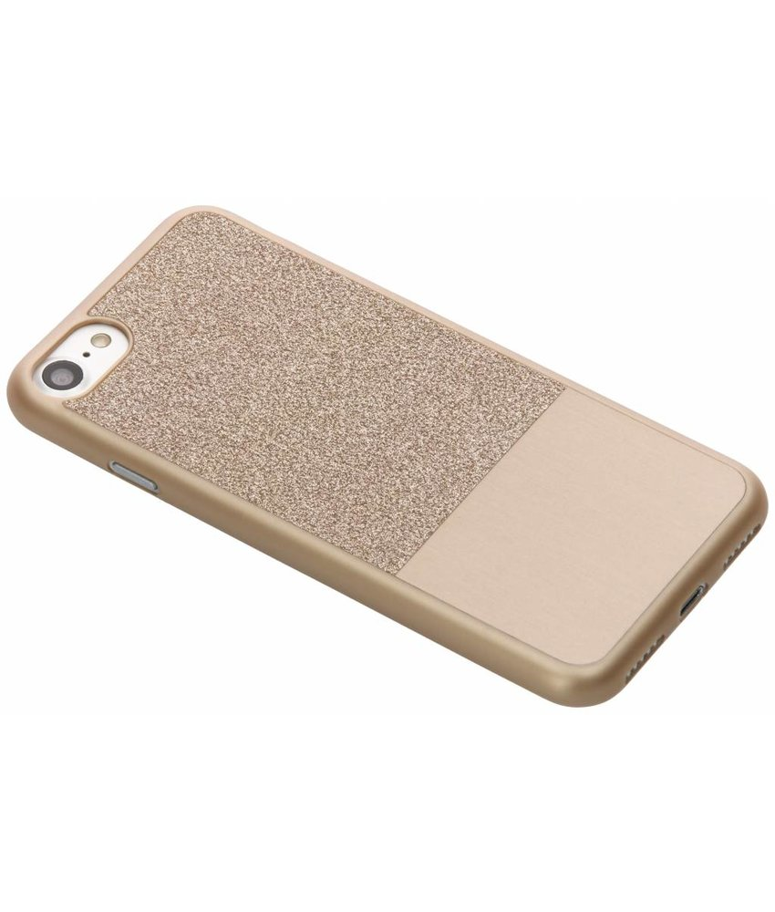 Be Hello Goud Glitter Case iPhone 8 / 7