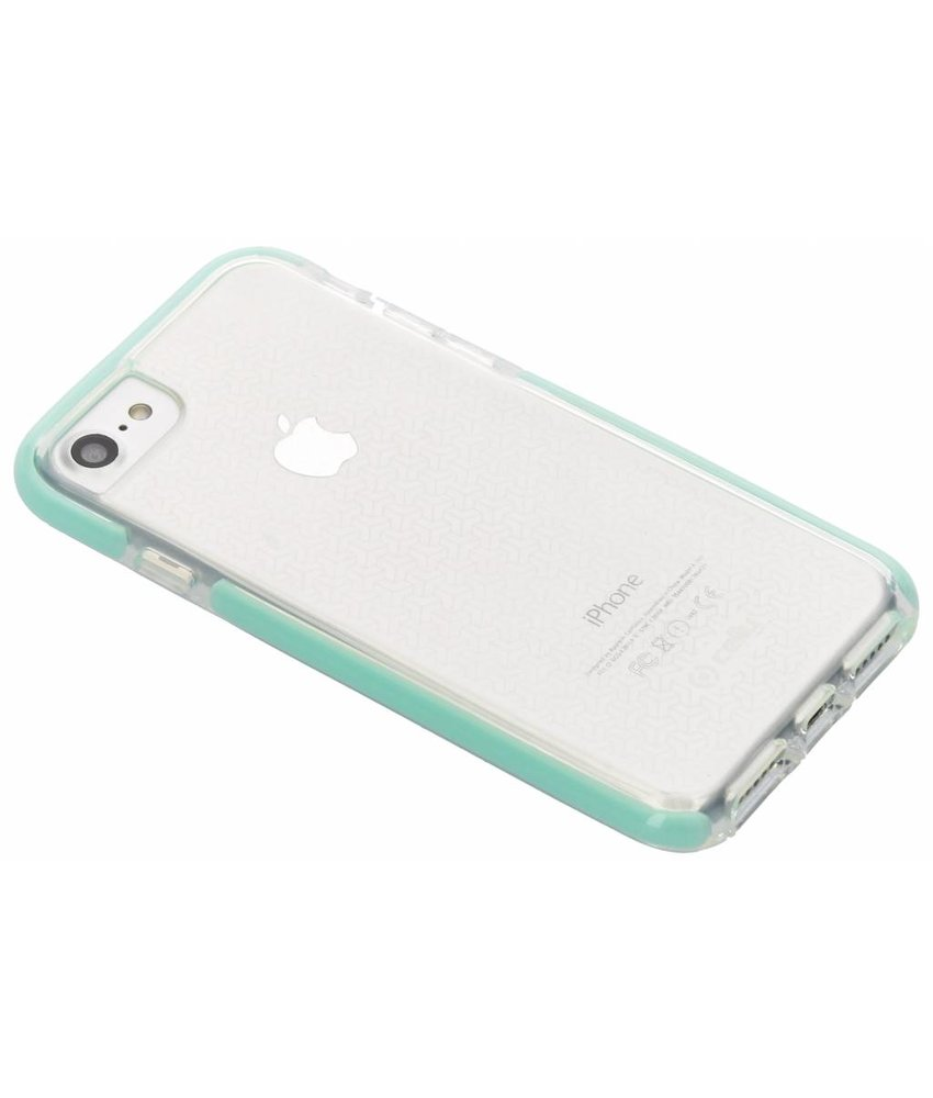 Celly Turquoise Hexagon Case iPhone 8 / 7