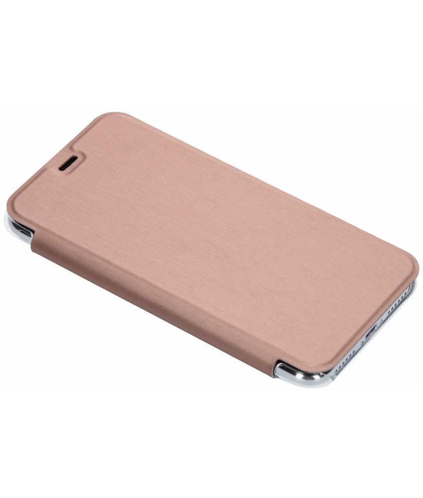 Be Hello Rosé Goud Book Case iPhone X