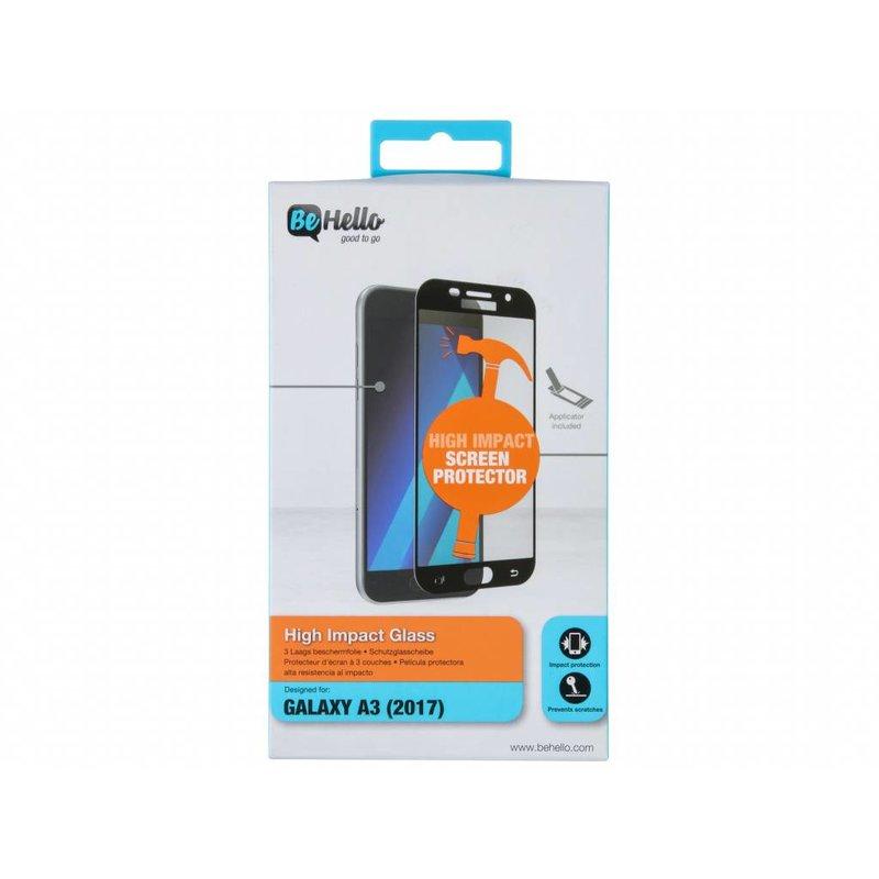 Be Hello High Impact Glass Screenprotector Samsung Galaxy A3 (2017)