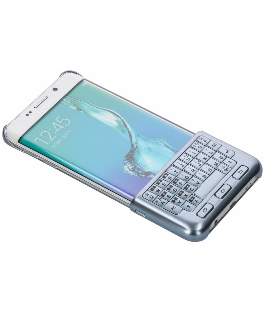 Samsung Blauw Keyboard Cover Galaxy S6 Edge Plus