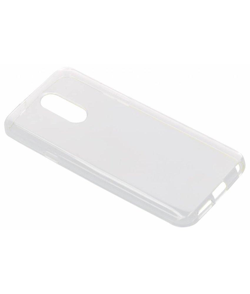Transparant gel case LG Q7