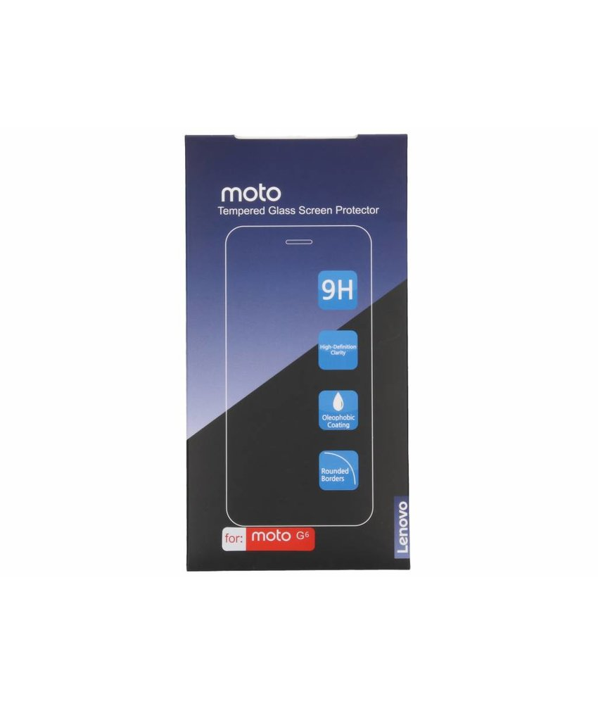 Motorola Tempered Glass Screenprotector Moto G6