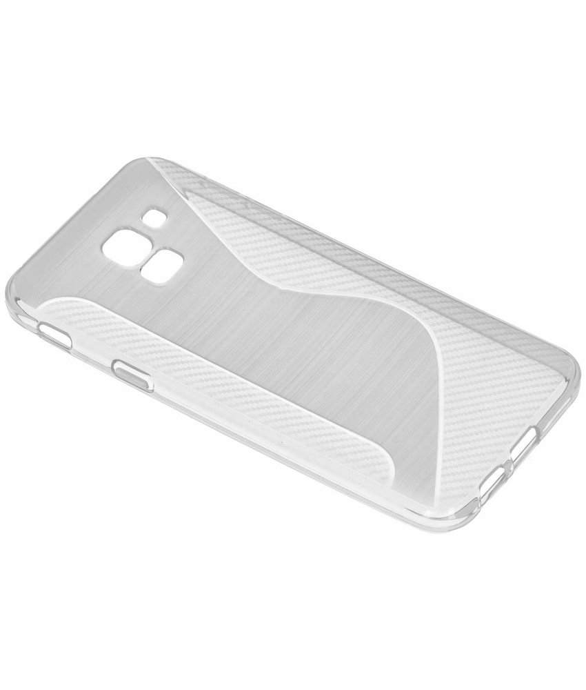 Transparant S-line TPU hoesje Samsung Galaxy J6