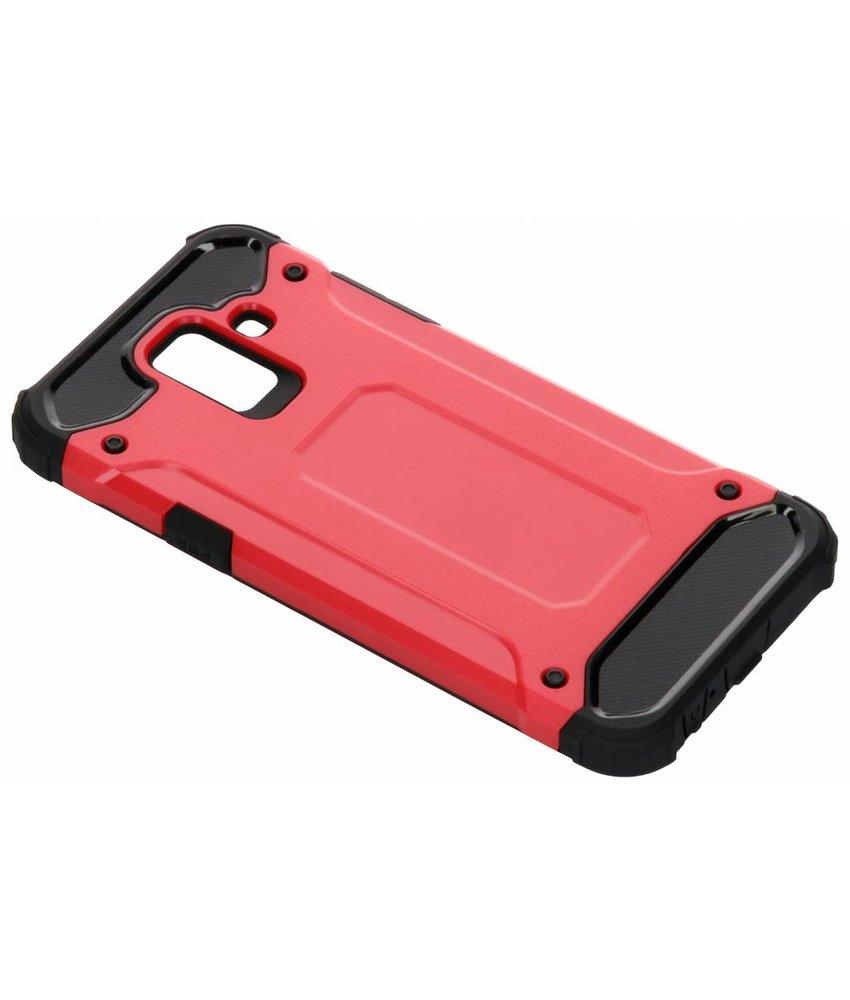 Rood Rugged Xtreme Case Samsung Galaxy A6 (2018)