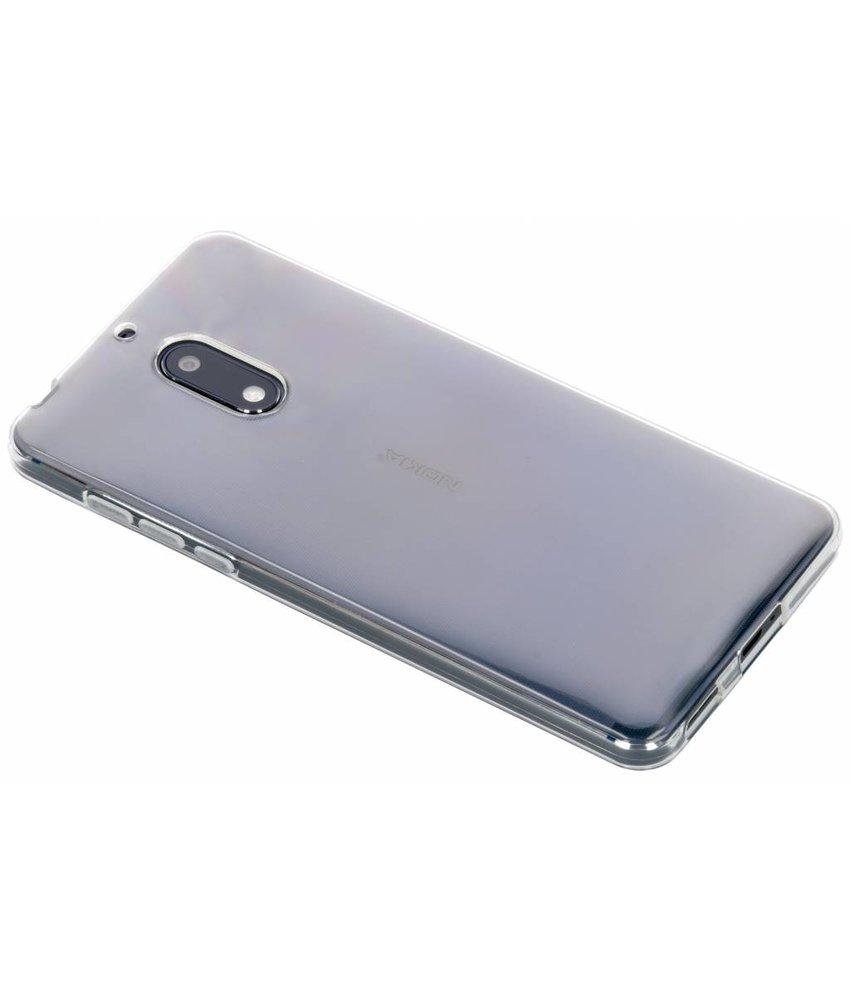 Transparant gel case Nokia 6