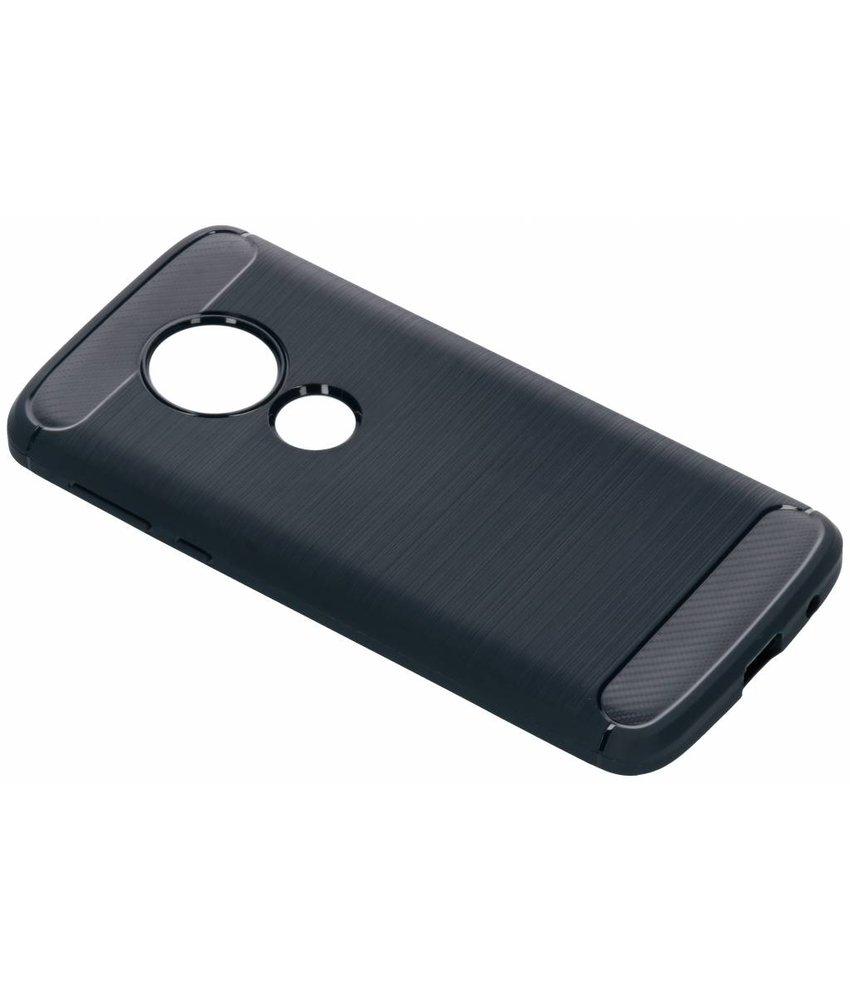 Donkerblauw Brushed TPU case Motorola Moto E5 / G6 Play