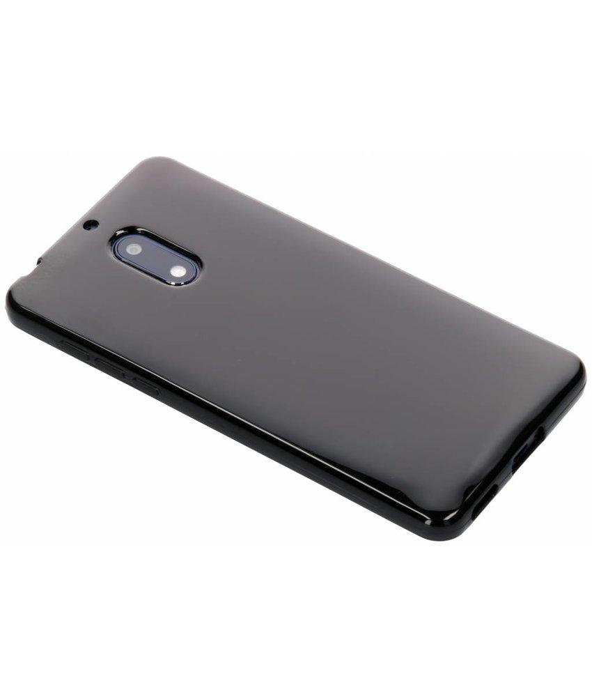 Zwart gel case Nokia 6