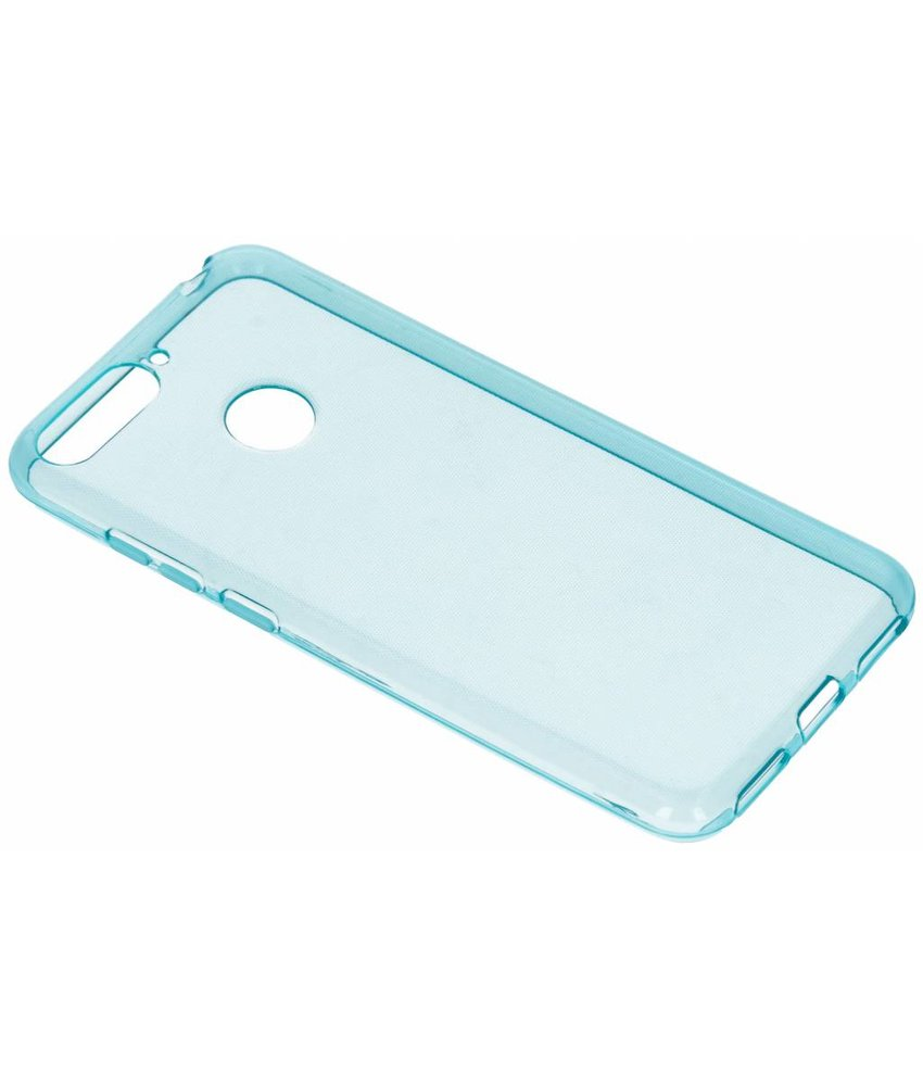 Turquoise gel case Honor 7A
