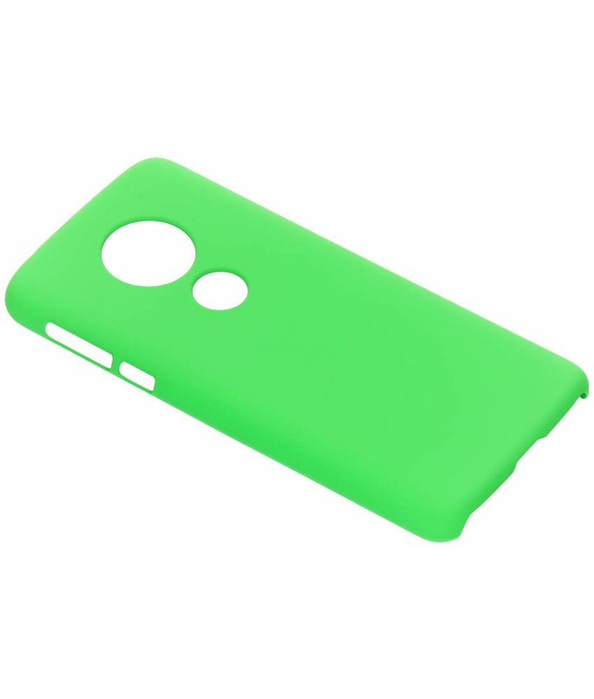 Groen effen hardcase hoesje Motorola Moto E5 / G6 Play