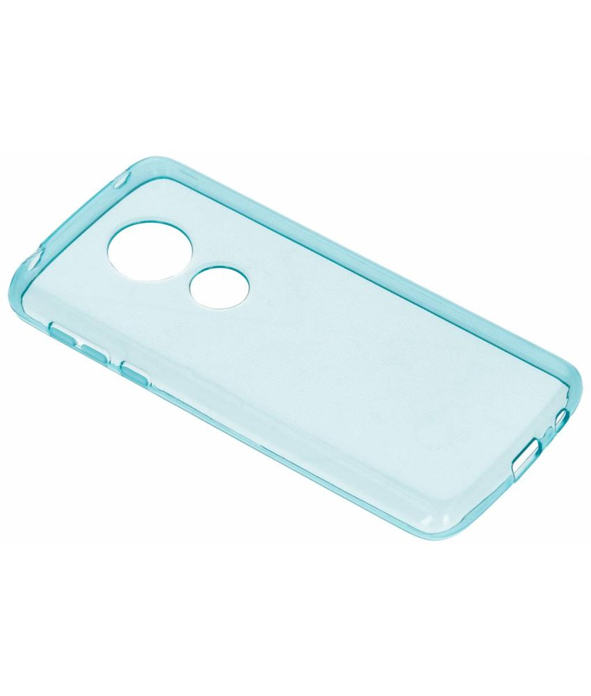 Turquoise gel case Motorola Moto E5 / G6 Play
