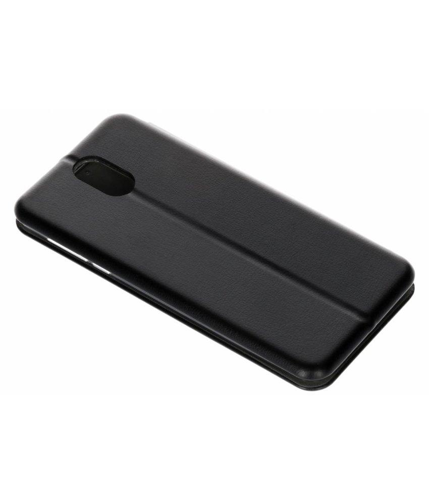 Zwart Slim Foliocase Nokia 3.1