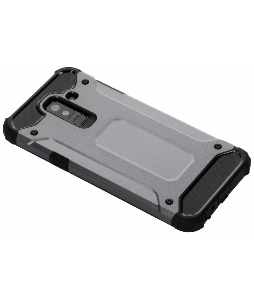 Grijs Rugged Xtreme Case Samsung Galaxy A6 Plus (2018)