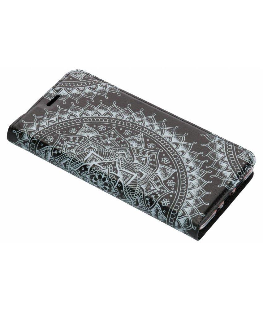 Design Softcase Booktype Nokia 7 Plus