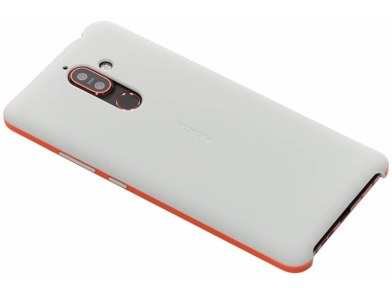 Nokia 7 Plus hoesje - Nokia Soft Touch Backcover