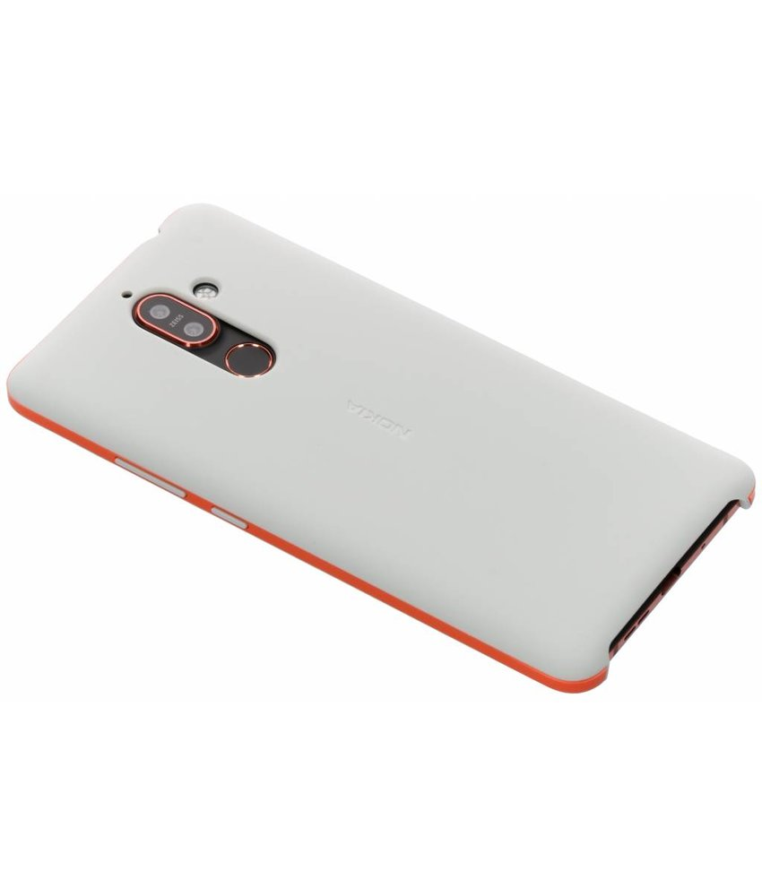 Nokia Grijs Soft Touch Case Nokia 7 Plus