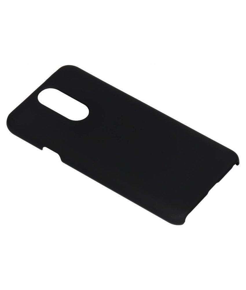 Zwart effen hardcase hoesje LG Q7