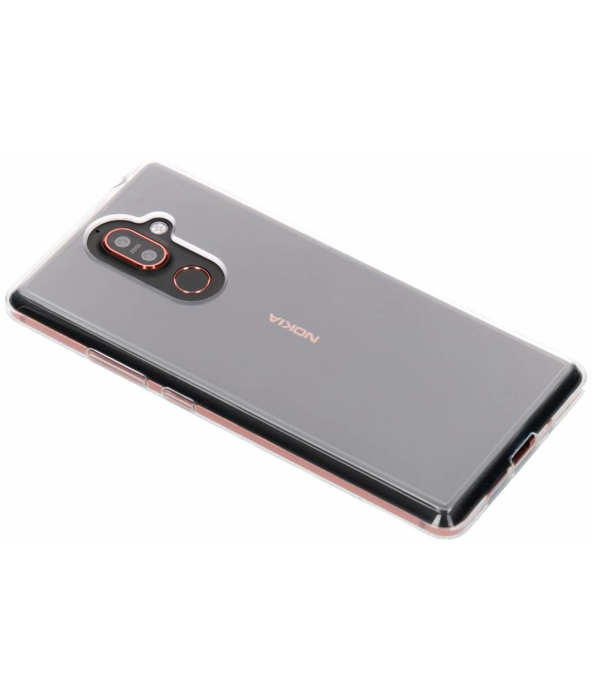 Nokia Premium Clear Backcover Nokia 7 Plus