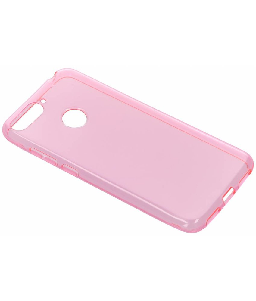 Roze gel case Honor 7A